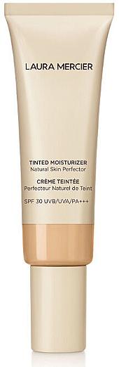 Base de maquillaje hidratante y protectora, SPF 30 - Laura Mercier Tinted Moisturizer Natural Skin Perfector SPF30 UVB/UVA/PA+++