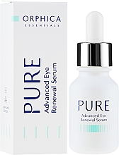 Perfumería y cosmética Sérum para contorno de ojos con elastina y aceite de abisinio - Orphica Pure Advanced Eye Renewal Serum