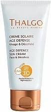 Perfumería y cosmética Crema facial antiedad de protección solar - Thalgo Age Defence Sun Cream SPF 30