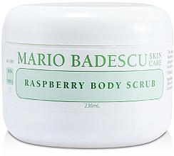 Perfumería y cosmética Exfoliante corporal con semillas de frambuesa y extracto de papaya - Mario Badescu Raspberry Body Scrub