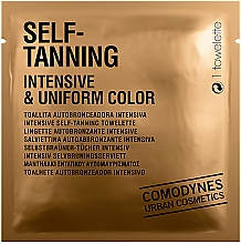Perfumería y cosmética Toallita autobronceadora intensiva - Comodynes Self-Tanning Intensive & Uniform Color
