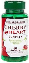 Perfumería y cosmética Complemento alimenticio en cápsulas, Cereza con Vitamina C, 500mg - Holland & Barrett Cherry Heart 500mg
