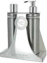 Perfumería y cosmética Set corporal - Vivian Gray Grey Crystal (gel de ducha/250ml + loción/250ml)
