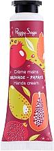 Perfumería y cosmética Crema de manos con karité, aroma a granada y papaya - Peggy Sage Grenade Papaye Hands Cream