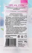 Sales de baño con aceite de almendras y alantoína - Czyste Piekno — imagen N2