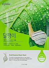 Perfumería y cosmética Mascarilla facial de tejido con baba de caracol - Esfolio Snail Essence Mask Sheet