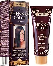 Perfumería y cosmética Bálsamo colorante de cabello con extracto de henna - Venita Henna Color