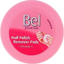 Perfumería y cosmética Discos húmedos removedores de esmalte de ulas - Bel Premium Wet Nail Polish Remover Pads