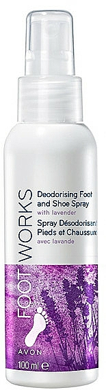 Desodorante para pies y zapatos con lavanda - Avon