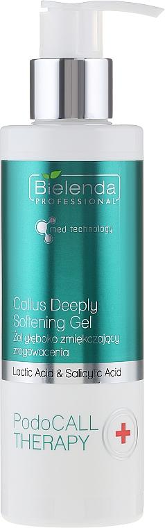 Gel para pies humectante con ácido láctico y salicílico - Bielenda PodoCall Therapy Callus Deeply Softening Gel