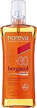 Perfumería y cosmética Aceite corporal bronceador resistente al agua, SPF 30 - Noreva Bergasol Sublim Satin Sun Oil Optimal Tanning SPF30