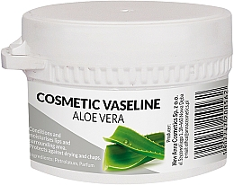 Perfumería y cosmética Vaselina cosmética con extracto de aloe vera - Pasmedic Cosmetic Vaseline Aloe Vera