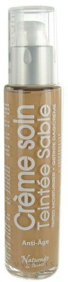 Crema facial correctora con aceite de avellana & ácido hialurónico 3 en 1 - Naturado En Provence Bio BB Cream — imagen Sable
