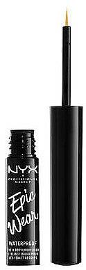 Delineador de ojos líquido - NYX Epic Wear Liquid Liner