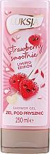 Perfumería y cosmética Crema de ducha con aroma a cóctel de fresa - Luksja Coconut Strawberry Smoothie Shower Gel