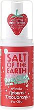 Perfumería y cosmética Desodorante natural en spray con aroma a fresa - Salt of the Earth Rock Chick Girls Sweet Strawberry Natural Deodorant
