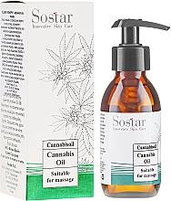 Perfumería y cosmética Aceite de masaje con cáñamo orgánico - Sostar Cannabidiol Oil Cannabis Extract