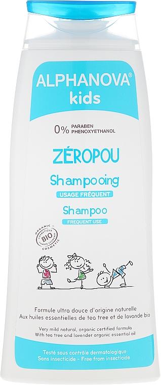 Champú de post tratamiento y prevención de piojos con aceite esencial orgánico de lavanda y árbol de té - Alphanova Kids Shampoo — imagen N1
