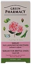 Perfumería y cosmética Seda líquida para puntas quebradizas con aceite de camelia - Green Pharmacy
