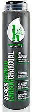 Perfumería y cosmética Gel limpiador facial con carbón de bambú, sin parabenes - Diet Esthetic Black Bamboo Carbon Charcoal Cleansing Gel
