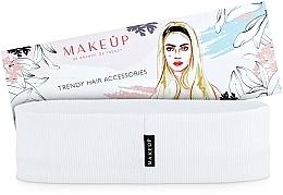 Perfumería y cosmética Cinta de pelo, blanca, Be Beauty - MakeUp