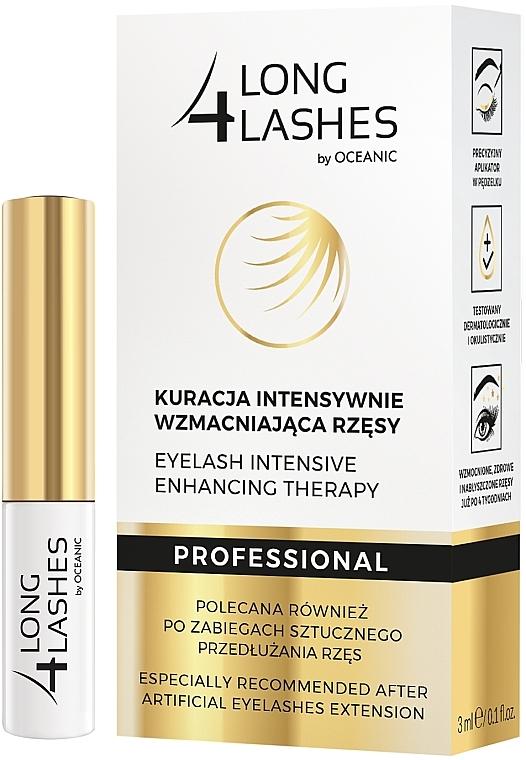 Sérum de pestañas multiacción con aceite de almendras dulces - Long4Lashes Eyelash Intensive Enhancing Therapy