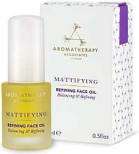 Perfumería y cosmética Aceite facial refinado de pachulí, ylang-ylang y jojoba - Aromatherapy Associates Mattifying Refining Face Oil