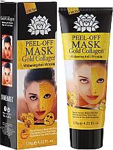 Perfumería y cosmética Mascarilla facial con partículas de oro 24K y colágeno - Pilaten Anti Aging 24K Gold Collagen Peel Off Face Mask