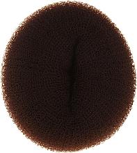 Perfumería y cosmética Esponja de moño, 15x6.5cm, marrón - Ronney Professional Hair Bun 056