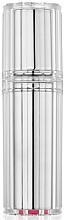 Perfumería y cosmética Atomizador recargable, vacío, color plata - Travalo Bijoux Silver Refillable Spray