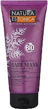 Perfumería y cosmética Mascarilla para el fortalecimiento del cabello con vitamina PP, coenzima Q10, aceite de argán - Natura Estonica Long'n'Strong Hair Mask