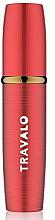 Perfumería y cosmética Atomizador recargable, vacío, rojo - Travalo Lux Red Refillable Spray
