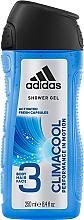 Perfumería y cosmética Gel de ducha para cuerpo, cabello y rostro - Adidas Climacool 3in1 Shower Gel Body&Hair&Face
