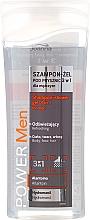 Perfumería y cosmética Champú gel de ducha 3en1 con alantoína e hidromanilo - Joanna Power Men Shampoo&ShowerGel