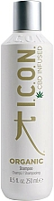 Perfumería y cosmética Champú hidratante orgánico a base de aloe vera - I.C.O.N. Organic Shampoo