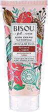 Perfumería y cosmética Crema corporal nutritiva con aceite de cacao e hidrolato de rosa - Bisou Rose&Cacao Body Cream