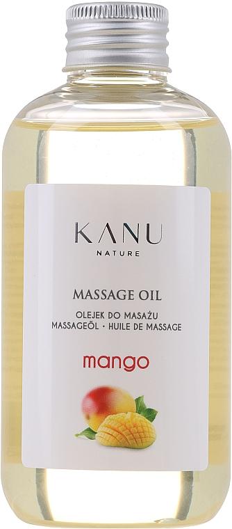 Aceite de masaje con aroma a mango - Kanu Nature Mango Massage Oil