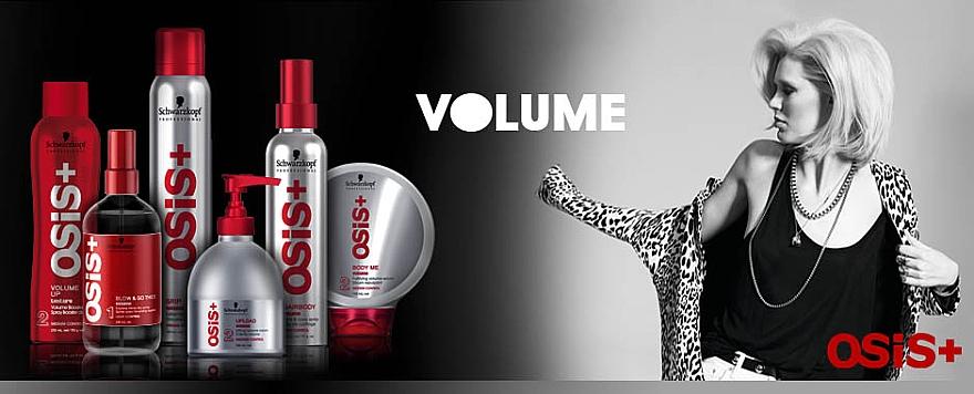 Crema voluminizadora para cabello con aceite de ricino - Schwarzkopf Professional Osis+ Upload Volume Cream  — imagen N4
