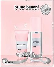 Perfumería y cosmética Bruno Banani Woman - Set (desodorante spray/75ml + gel de ducha/50ml)