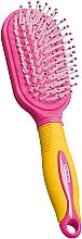 Perfumería y cosmética Cepillo de pelo, amarillo con rosa - Titania