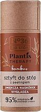 Perfumería y cosmética Barra exfoliante de pies natural con polvo de bambú - Pharma CF No.36 Plantis Therapy Peeling Foot Stick