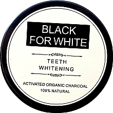 Perfumería y cosmética Polvo blanqueador de dientes con carbón activado 100% natural - Biomika Black For White Teeth Whitening