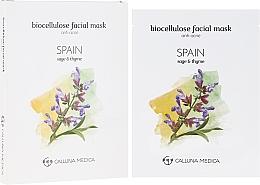 Perfumería y cosmética Mascarilla facial antiacné de biocelulosa - Calluna Medica Spain Anti-Acne Biocellulose Facial Mask