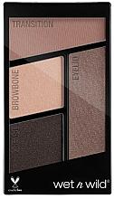 Perfumería y cosmética Paleta de sombras de ojos, 4 ojos - Wet N Wild Color Icon Eyeshadow Quad