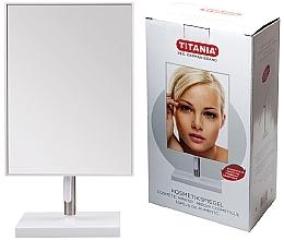 Perfumería y cosmética Espejo cosmético con aumento, 16x30cm - Titania