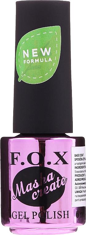Base de color de uñas - F.O.X Masha Create Color Base