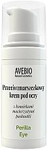Perfumería y cosmética Crema natural antiedad para contorno de ojos con extracto de perilla - Avebio Perilla Eye Cream