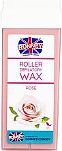 Perfumería y cosmética Cartucho de cera depilatoria roll-on, rosa - Ronney Wax Cartridge Rose