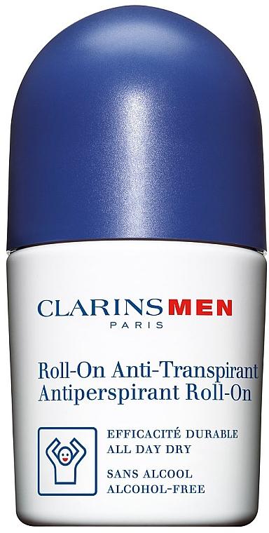 Desodorante roll-on antitranspirante, sin alcohol - Clarins Men Deodorant Roll — imagen N1