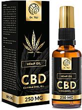 Perfumería y cosmética Aceite natural de cáñamo CBD 250mg - Dr. T&J Bio Oil
